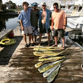 Offshore with Captain mike and hurb