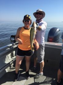 Half day Walleye fishing with Captain Kevin