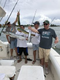 Great day of fishing on Highhook with Captain Tim