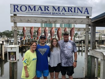 6 hour trip with Capt Michael Thomas