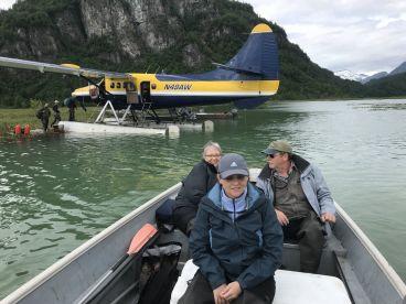 Turbine otter on floats