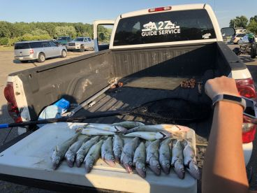 Half Day Walleye Fishing with Corey