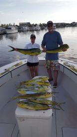 Fishing with Damon