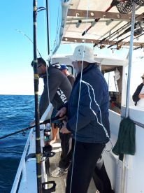 Full day reef fishing - on 'Deep End'