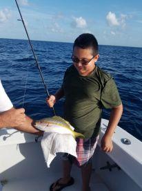 Fishing with Tony