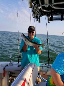Walleye Trip on Erie Eyes Angler with Captain Brian Schmidt