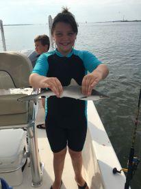 Shark Fishing with Lindsay
