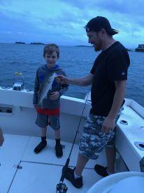 Evening Boston Harbor Fishing Trip