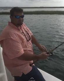 3 hour trip with Captain Scott Burrell on the Salty Roots