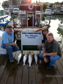 Great afternoon trip on the Fin Chaser with Captain Andy