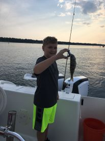 2 hour fishing trip with Captain Donald Roy