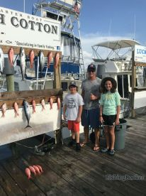 Afternoon Half Day Charter on High Cotton Destin