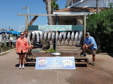 Total = 300lbs of Tuna