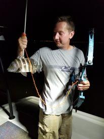 Fishing with Ike