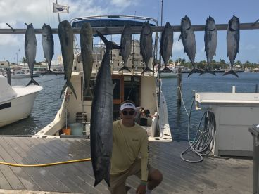 3\/4 day trip with Cowgirl Charters (Capt Tom and 1st Mate John)