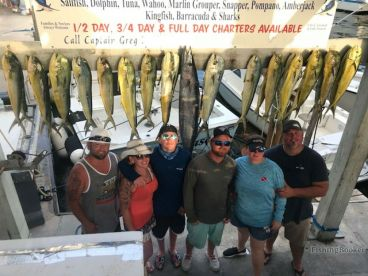 Great 6.5 hr trip on Fin Chaser