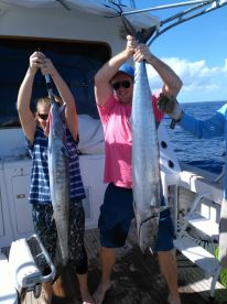 Great day offshore fishing
