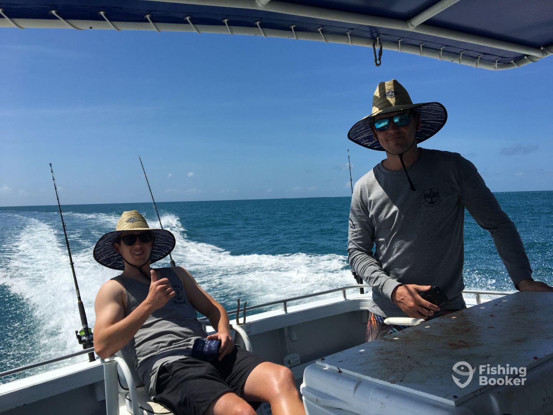 I just found Aquis Fishing Charters on FishingBooker