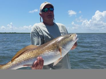 FULL DAY BULL RED TRIP WITH SCOTT PELAS OF LAGNIAPPE CHARTERS