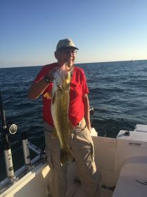 Walleye fishing with Jim Pettys
