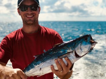 Albacore is a tough fighter for a smaller fish.