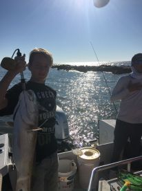 Fishing with Aaron
