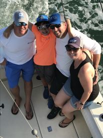 Half Day In Shore with Capt. John and First Mate Brooke