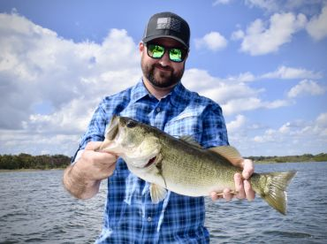 Bass fishing afternoon