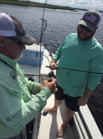 Great day fishing the tides on the JAX Intracoastal!