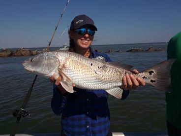 Rita, one GREAT lady angler!