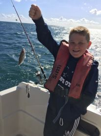 Boys fishing trip
