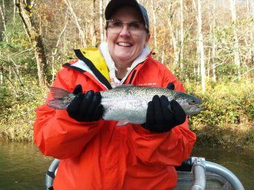 Joe is a great fishing trip host and sportsman.