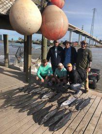 8 man limit on king mackerel !!!