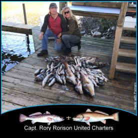 Full day fishing with Captain Rory!